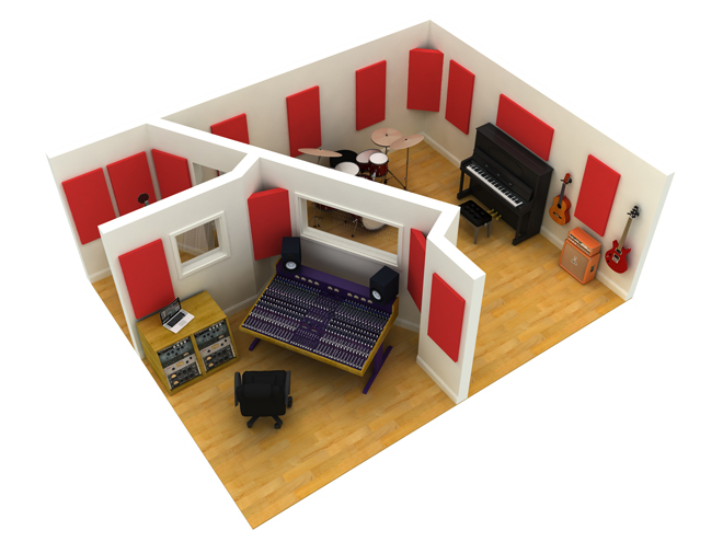 Quietglue pro recording studios for How to soundproof my house